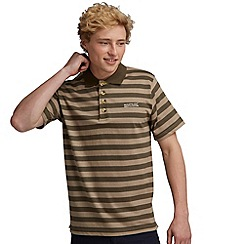 Regatta - Khaki/neutral second wind polo