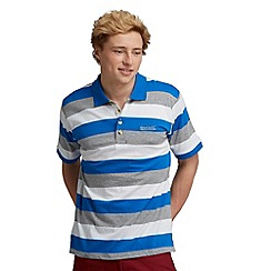 Regatta - Blue/ grey second wind polo