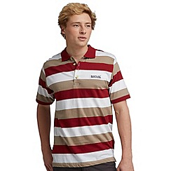 Regatta - Red/ neutral second wind polo