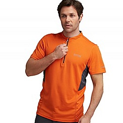 Regatta - Orange/ grey breakbar t shirt