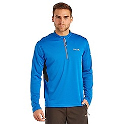 Regatta - Oxford blue froswick zip sports top