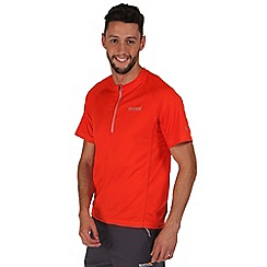 Regatta - Orange breakbar quick drying t-shirt