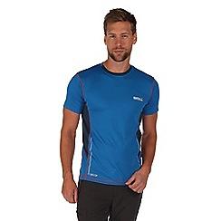 Regatta - Blue jenolan lightweight t-shirt