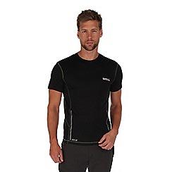 Regatta - Black jenolan lightweight t-shirt
