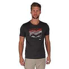 Regatta - Grey fingal print t-shirt