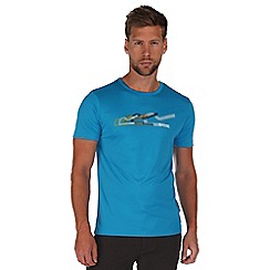 Regatta - Blue fingal print t-shirt