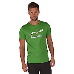 Regatta - Green fingal print t-shirt