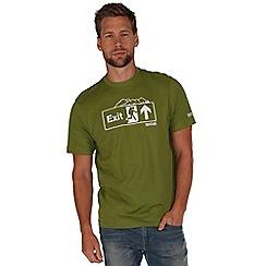 Regatta - Green algar t-shirt