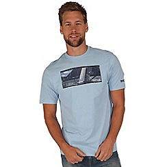 Regatta - Powder blue algar t-shirt