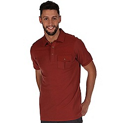 Regatta - Brown bleeker polo shirt