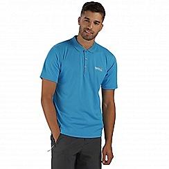 Regatta - Blue Maverik polo shirt