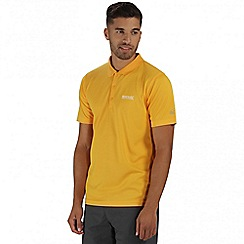 Regatta - Yellow Maverik polo shirt
