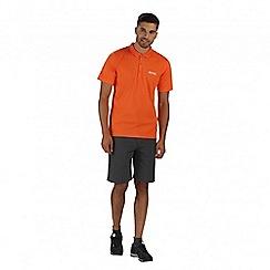 Regatta - Orange Maverik polo shirt