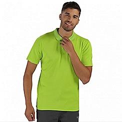 Regatta - Lime green Maverik polo shirt