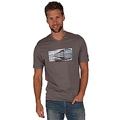 Regatta - Grey tirich printed t-shirt
