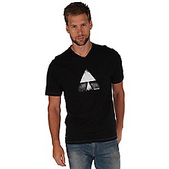 Regatta - Black tirich printed t-shirt