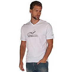 Regatta - White tirich printed t-shirt