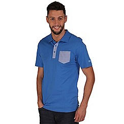 Regatta - Blue karpo polo shirt