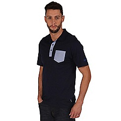 Regatta - Navy karpo polo shirt