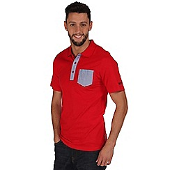 Regatta - Red karpo polo shirt
