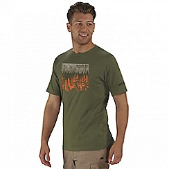 Regatta - Green Cline printed t-shirt