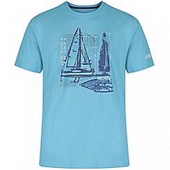 Regatta - Light blue Cline printed t-shirt