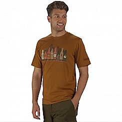 Regatta - Brown Cline printed t-shirt