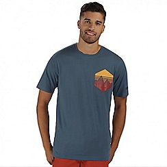 Regatta - Blue Cline printed t-shirt