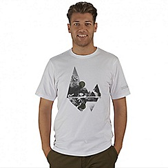 Regatta - White Cline printed t-shirt