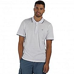Regatta - White Kaine polo shirt