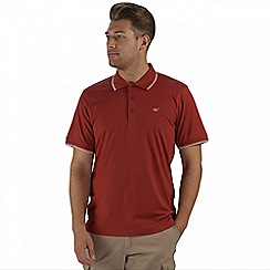 Regatta - Burgundy Kaine polo shirt