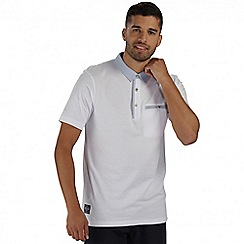 Regatta - White Balius polo shirt