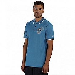 Regatta - Blue Tremont polo shirt