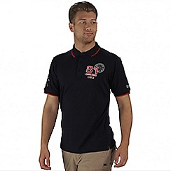 Regatta - Navy Tremont polo shirt