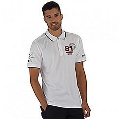 Regatta - White Tremont polo shirt