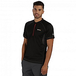 Regatta - Black Breakbar t-shirt