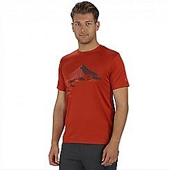 Regatta - Orange Fingal printed t-shirt