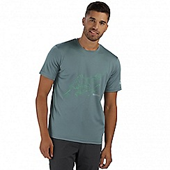 Regatta - Green Fingal printed t-shirt