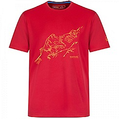 Regatta - Red Fingal printed t-shirt