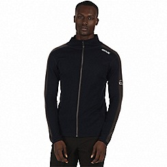 Regatta - Blue 'Tunkin' zip through base layer top