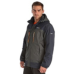 Regatta - Seal grey calderdale waterproof jacket