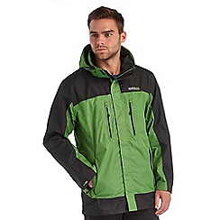 Regatta - Alpine green calderdale waterproof jacket