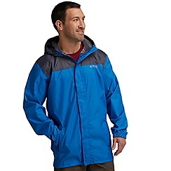 Regatta - Blue/ dark grey pack it jacket