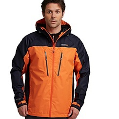 Regatta - Orange/ navy allpeaks jacket
