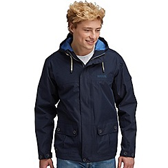 Regatta - Navy longview waterproof jacket