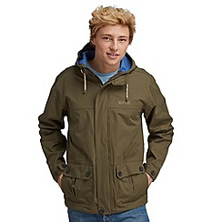 Regatta - Khaki green longview waterproof jacket