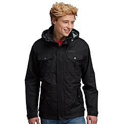 Regatta - Black hightime waterproof jacket