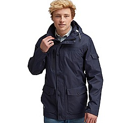 Regatta - Navy reefknot waterproof jacket