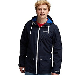 Regatta - Navy highwater waterproof jacket