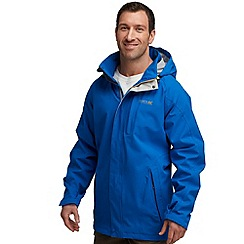 Regatta - Blue northfield waterproof jacket